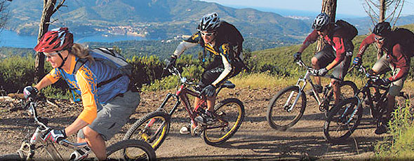 mountain bike all'isola d'elba