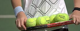 tennis per single, coppie, famiglie