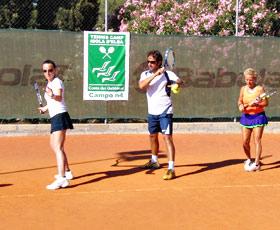 allievi del tennis club isola d'elba