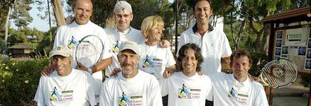 i maestri di tennis del team guidato da Filippo Montanari