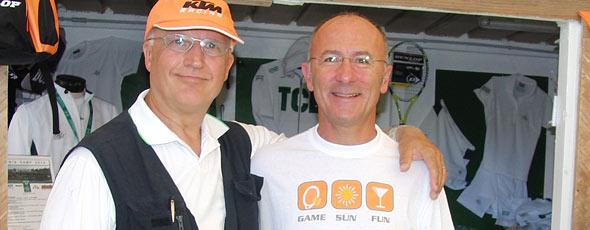 Paolo Hendel ospite alla Costa dei Gabbiani nell'estate 2010