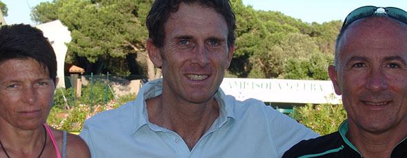 Stefano Meloccaro, commentatore Sky, è un ospite fisso del Tennis Camp Isola d'Elba