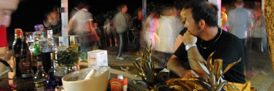 il bar del villaggio costa dei gabbiani