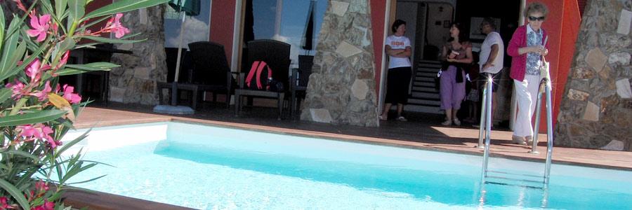 ville piscina elba