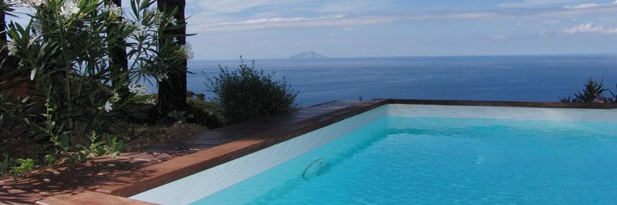 ville piscina elba montecristo