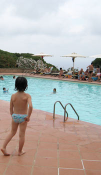 villaggio con piscina all'elba