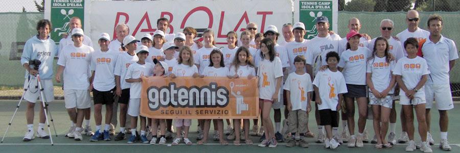 tennis per tutte le età all'isola d'elba